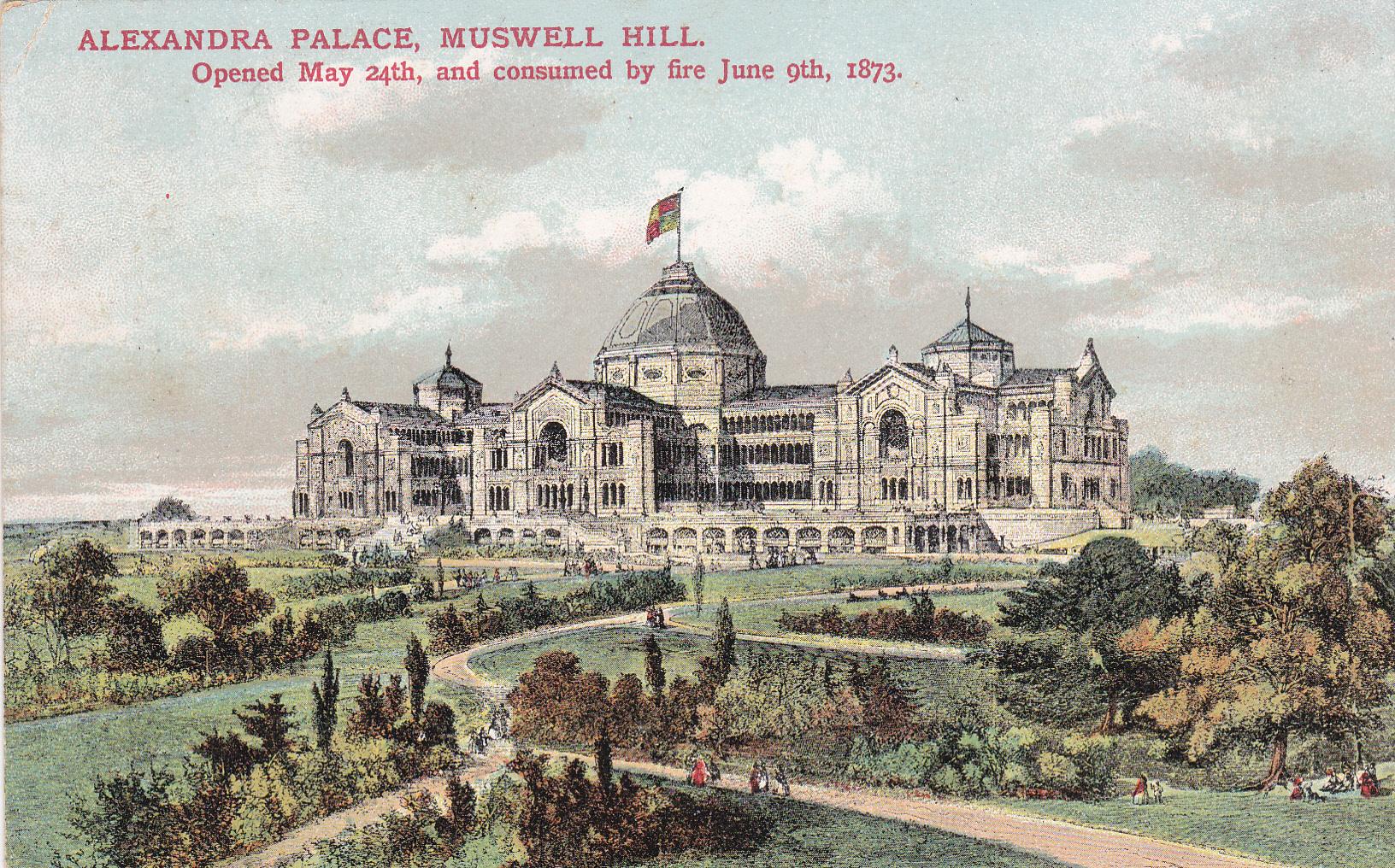 Alexandra Palace Original 1873