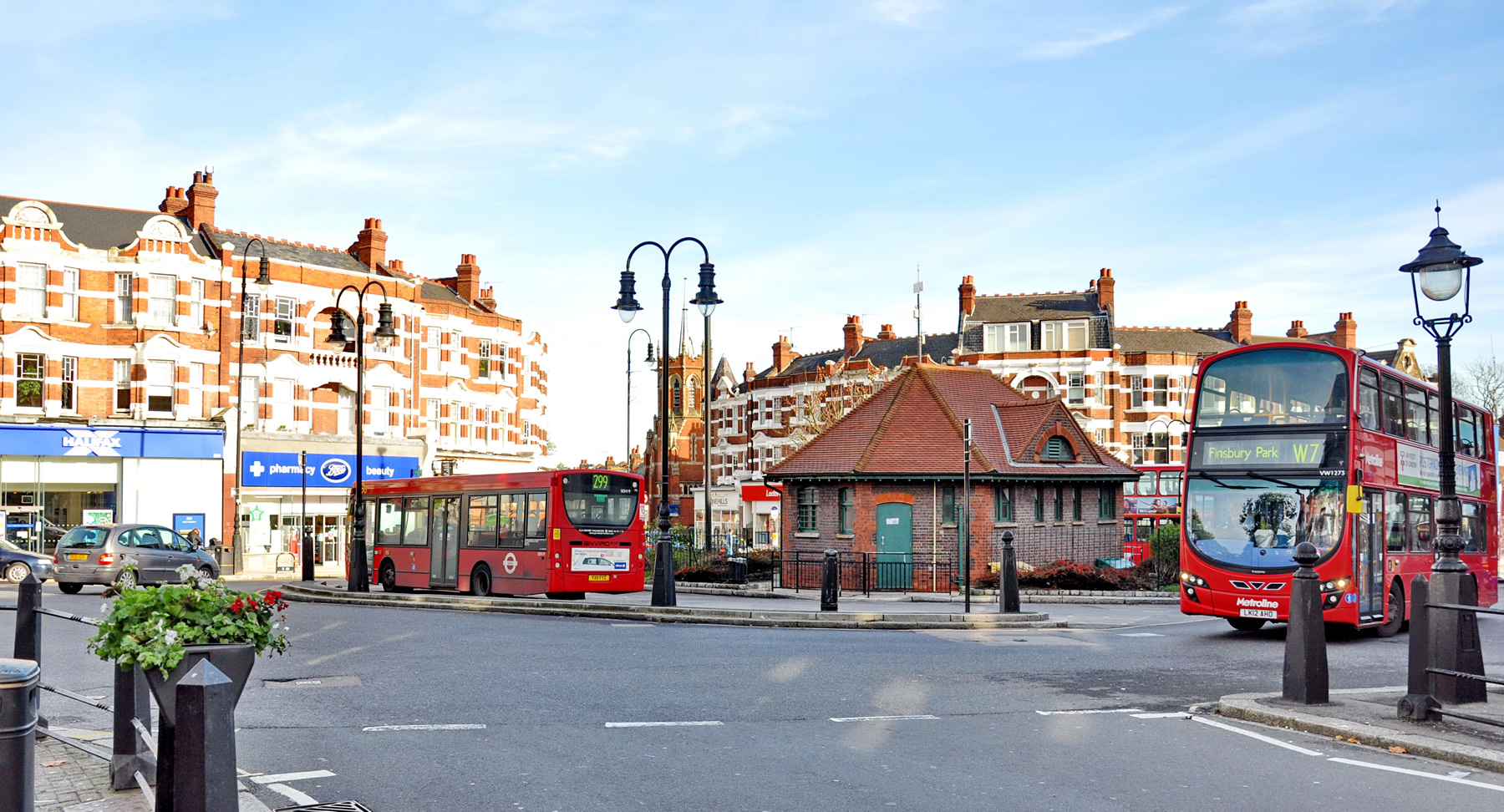 Muswell Hill Roundabout