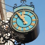 Langton Clock - MHFGA's Diamond Jubilee Project 2008, reinstated May 2009