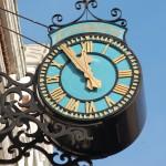 Langton Clock - MHFGA's Diamond Jubilee Project 2008, reinstated May 2009