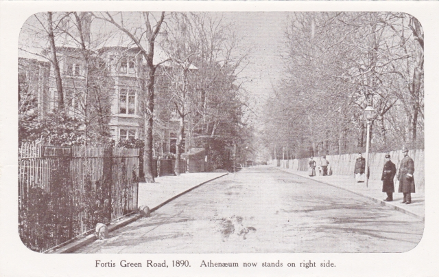 Fortis Green Road 1890