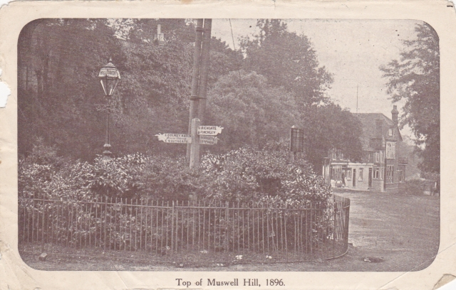Muswell Hill Roundabout 1896