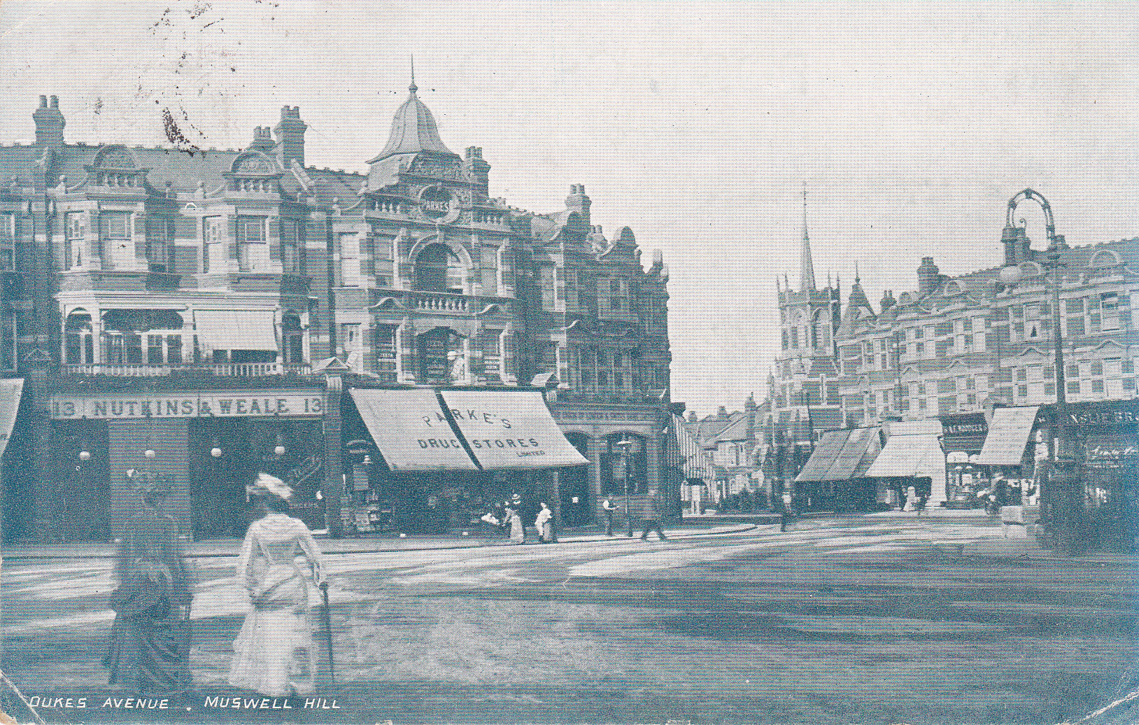 Muswell Hill Roundabout 1903