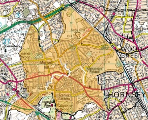 Muswell Hill, Fortis Green & Alexandra Wards