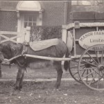 Manor Dairy delivery cart circa 1907.