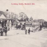 Muswell Hill, Old Train Station 1870s