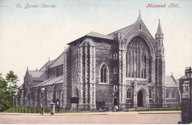 St James Church 1902