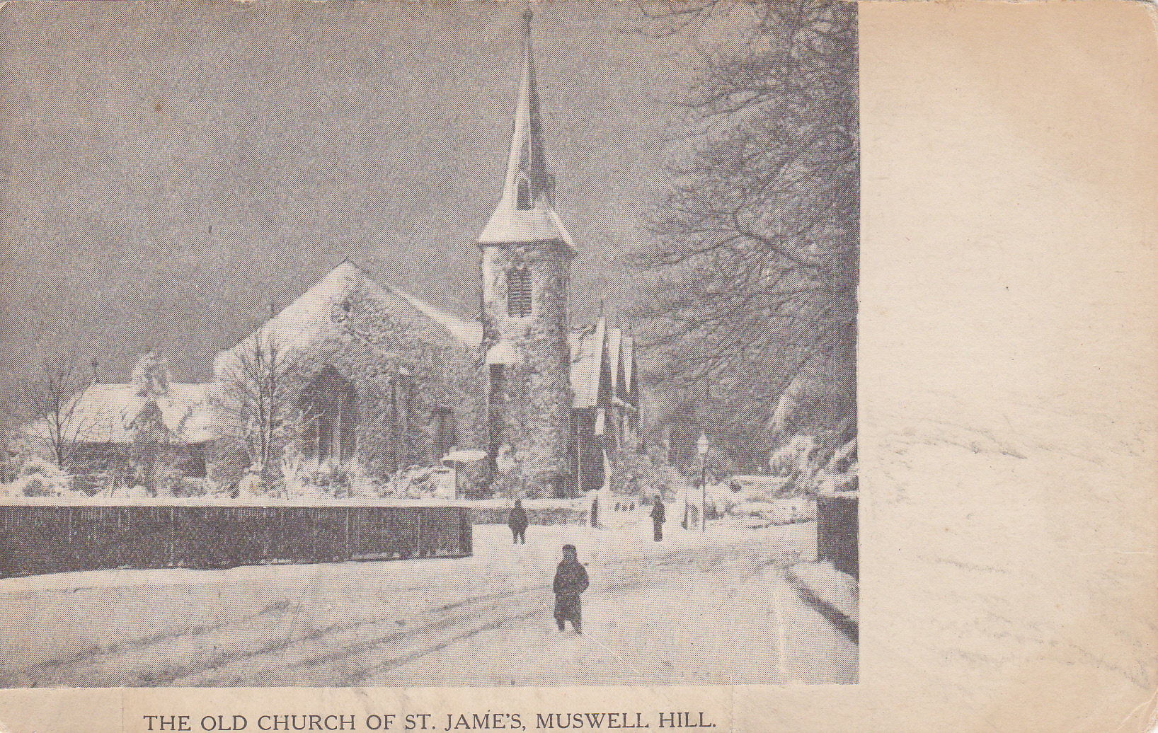 St James Church circa 1870