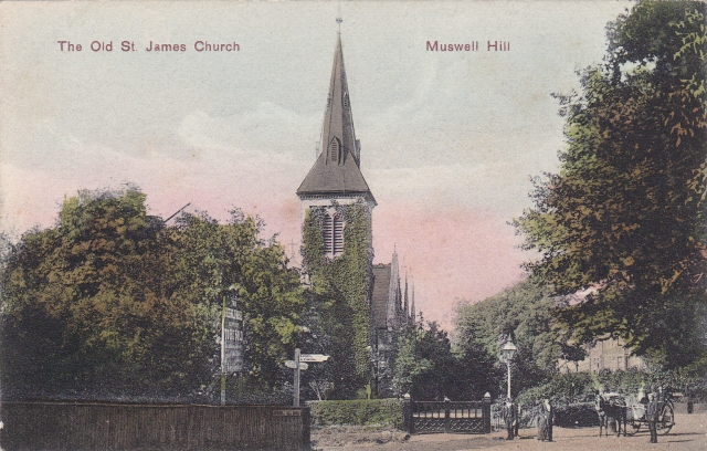 St James Church circa 1890