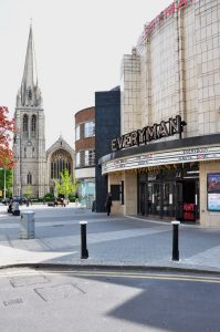 St. James's Church and the Everyman Cinema