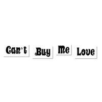 Can't Buy Me Love Vintage