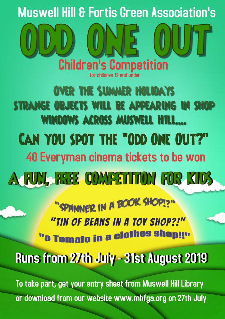 Odd One Out Competition 2019